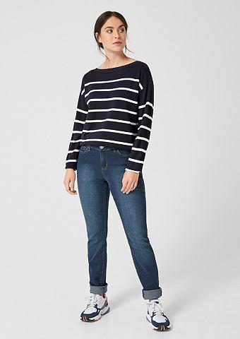 Пуловер с Ringeln