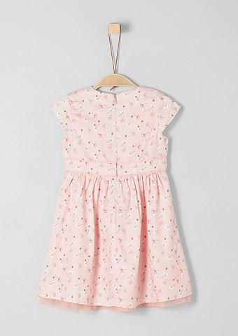S.OLIVER RED LABEL JUNIOR Платье c узором с Tüll-Detail для...