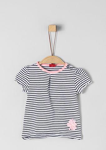 S.OLIVER RED LABEL JUNIOR Кофта полосатая с аппликация для Babys...