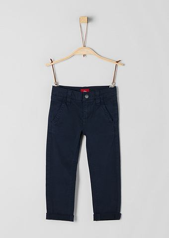 S.OLIVER RED LABEL JUNIOR Brad: брюки с Struktur для Jungen