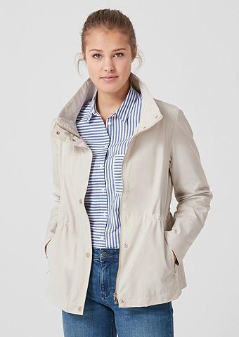 Нежный куртка с воротник стойка