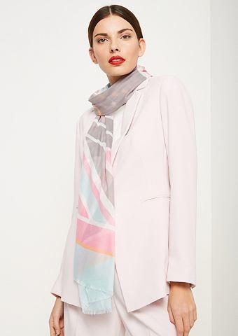 COMMA Нежный платок в сочетание узоров