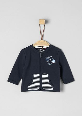 S.OLIVER RED LABEL JUNIOR Спортивный свитер с Zipper для Babys