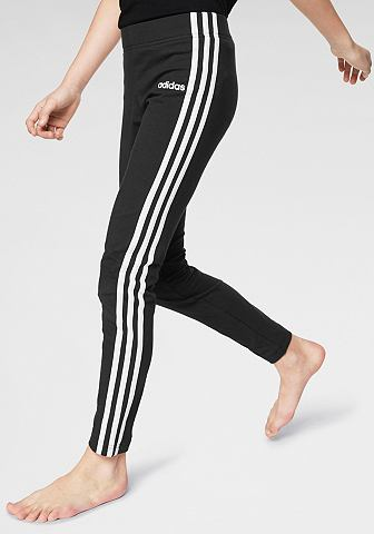 ADIDAS Леггинсы »ESSENTIAL 3 STRIPES дл...