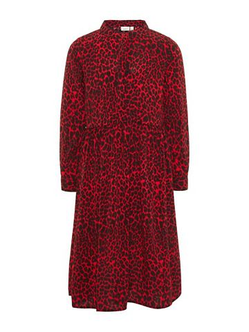 NAME IT Длиная Leopardenmuster платье
