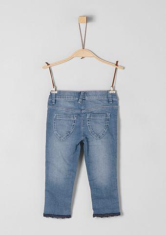 Treggings: 7/8 джинсы с кружева для M&...