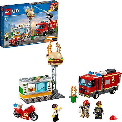 LEGO ® Feuerwehreinsatz в Burger-Restau...