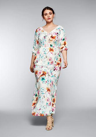 SHEEGO CASUAL Sheego платье-макси длинное
