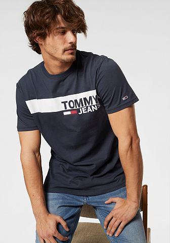 TOMMY JEANS TOMMY джинсы кофта с принтом »TJ...