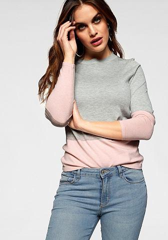ONLY Пуловер с круглым вырезом »CAMEL...