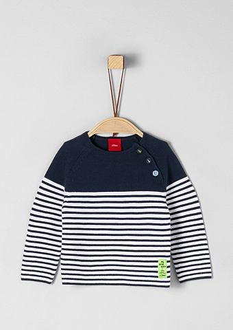 Трикотажный пуловер с Ringelmuster для...