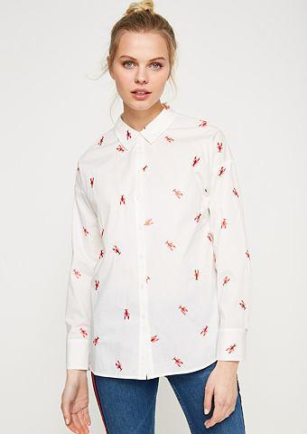 Блузка с декоративный вышивка