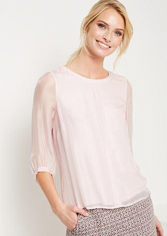 Из легкой ткани блуза из шелк