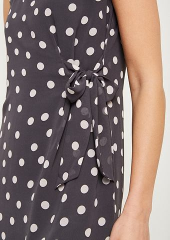 COMMA Нежный платье с Floral-Allovermuster