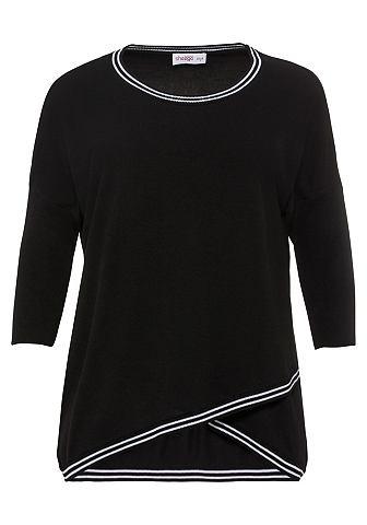 SHEEGO STYLE Пуловер с круглым вырезом