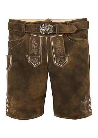SPIETH & WENSKY Spieth & Wensky брюки кожаные из н...