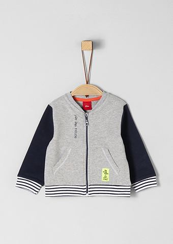 Colourblocking спортивный свитер для B...