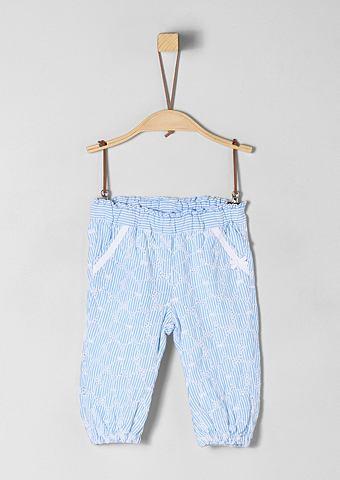 S.OLIVER RED LABEL JUNIOR Хлопковые брюки с окантовка для Babys