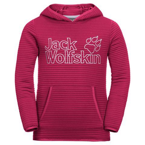 JACK WOLFSKIN Пуловер с капюшоном »MODESTO бай...