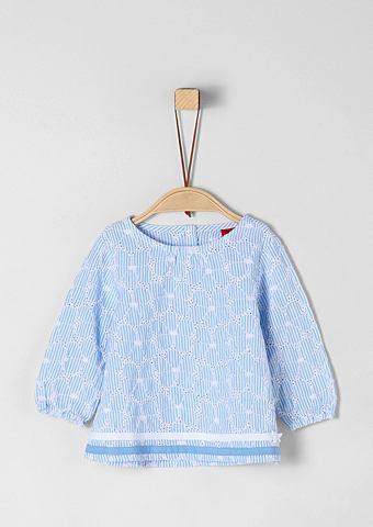 Блуза с цветочный окантовка для Babys