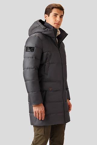 Пальто пуховое с funktionalen карман