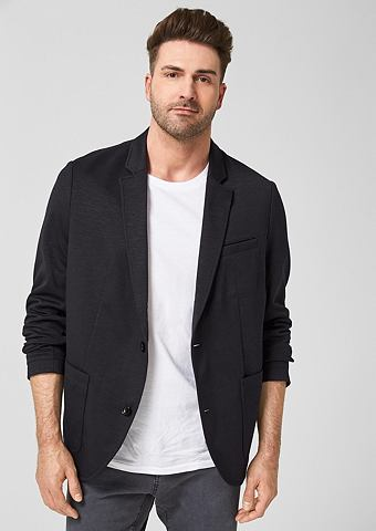 Пиджак из трикотаж