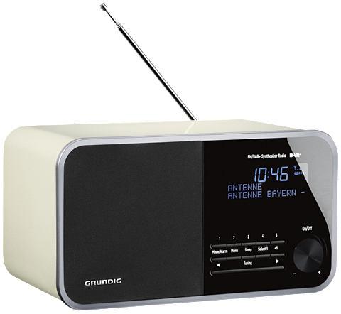 GRUNDIG Radio »DTR 3000 DAB+ White«...