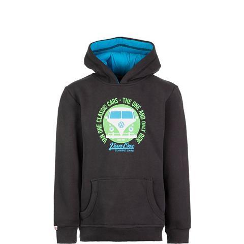 VAN ONE CLASSIC CARS Пуловер с капюшоном »Bulli Face&...