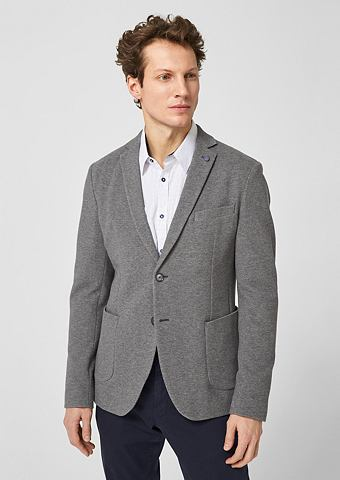 Зауженные пиджак из трикотаж