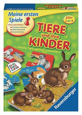 Spiel »Tiere и ihre Kinder«...
