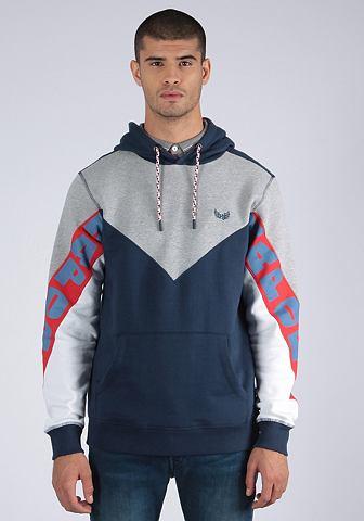 KAPORAL Пуловер с капюшоном в sportlichem Desi...