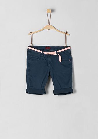 S.OLIVER RED LABEL JUNIOR Suri: шорты с ремень для Mädchen