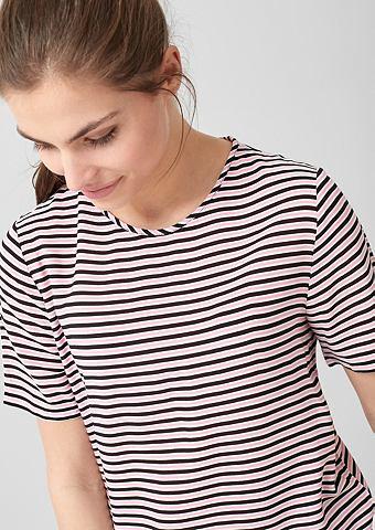 Блуза с farbigen Streifen