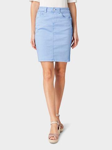 Юбка »Farbiger джинсовая юбка