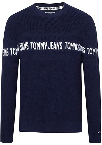 TOMMY джинсы пуловер с круглым вырезом...