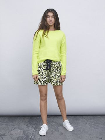 Neon трикотажный пуловер