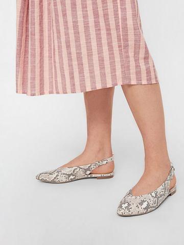 BISCHA Schnallen туфли с открытой пятк...
