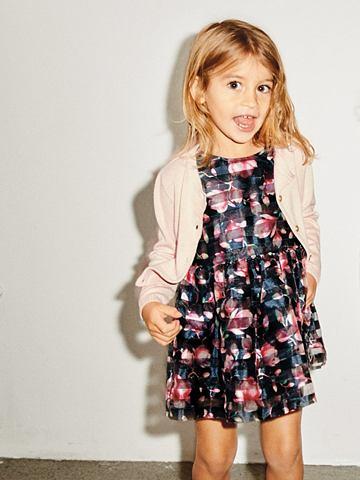 NAME IT Нежный Цветочный узор платье