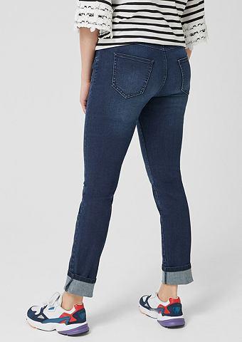 TRIANGLE Curvy узкий Leg: джинсы стрейч