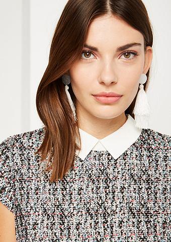 Пуловер с mehrfarbigen Bouclé-M...