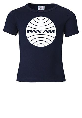LOGOSHIRT Футболка с Pan Am-Logodruck