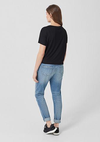 TRIANGLE Красивая Boyfriend: Used джинсы