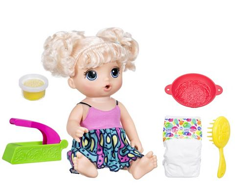 Кукла SnackinNoodles Baby Blonde