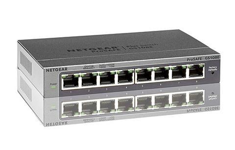Switch GS108E - 8 Port »Gigabit ...