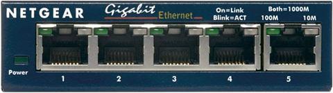 NETGEAR 10/100/1000 5port Switch »Stromv...