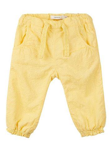 NAME IT Цветочнaя вышивка брюки