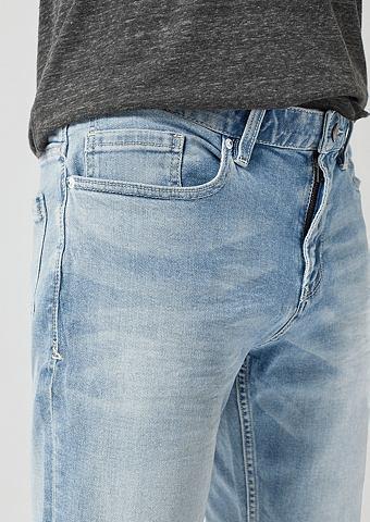 S.OLIVER RED LABEL Tubx Regular: шорты из джинсы
