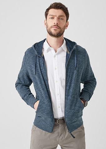 Пестрый спортивный свитер