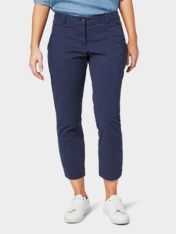 TOM TAILOR Чиносы »Slim 7/8 брюки узкие брю...