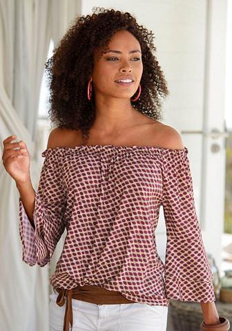 Блузка в стиле кармен